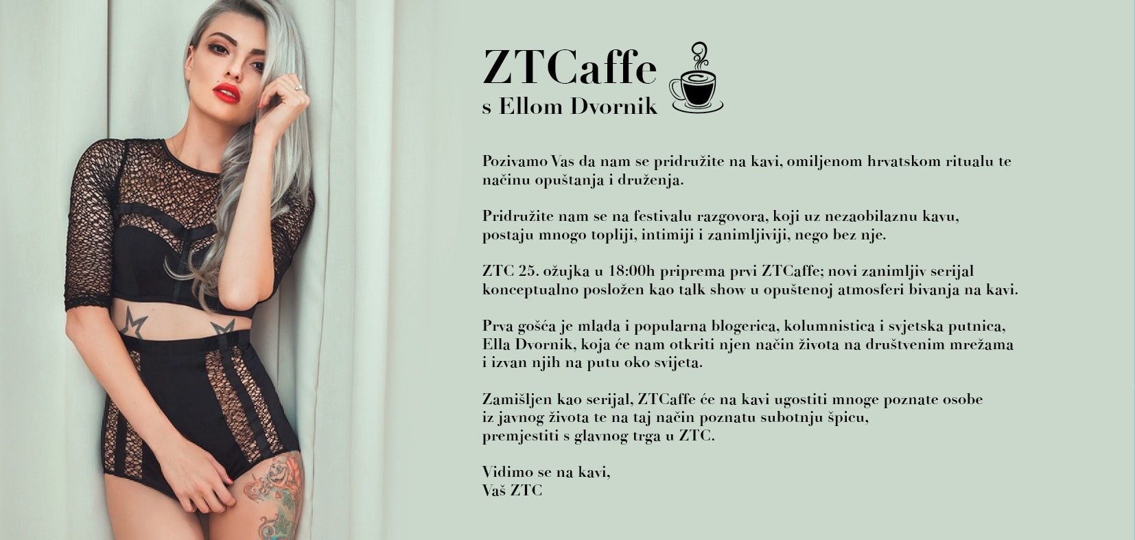 Prvi Proljetni Vikend U ZTC-u Uz Ellu Dvornik I Elite Model Look Casting!