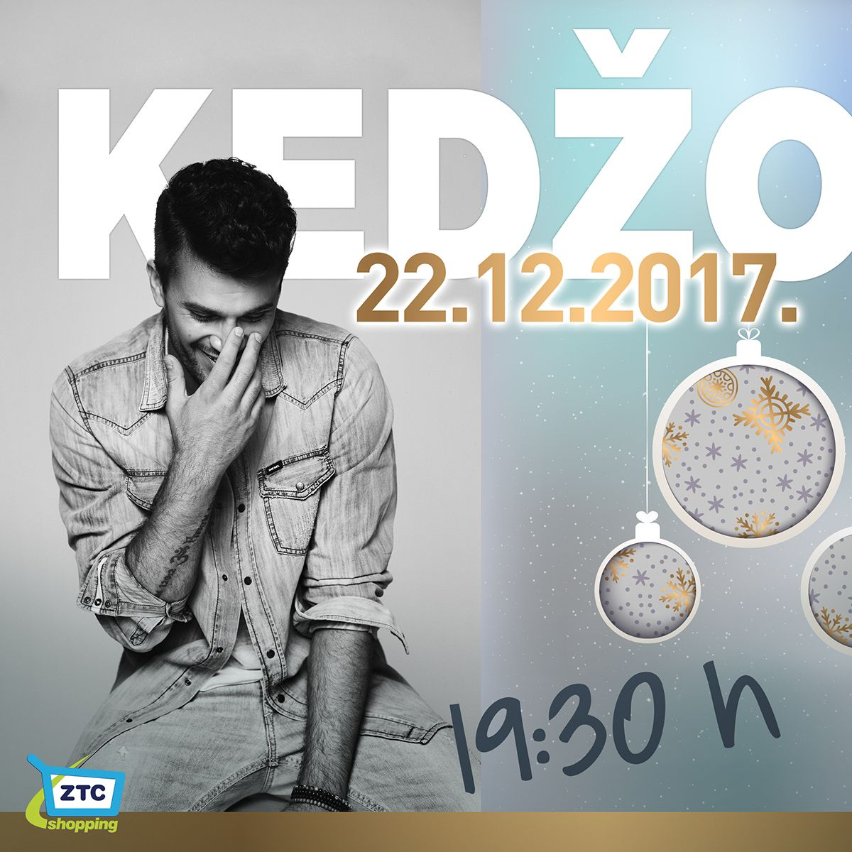 Damir Kedžo i Night Shopping with Zeta – ovoga smo petka u ZTC-u!