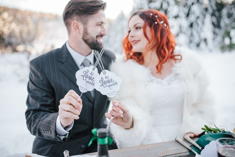 Čarobni zimski wedding editorial u Javorovoj dolini!