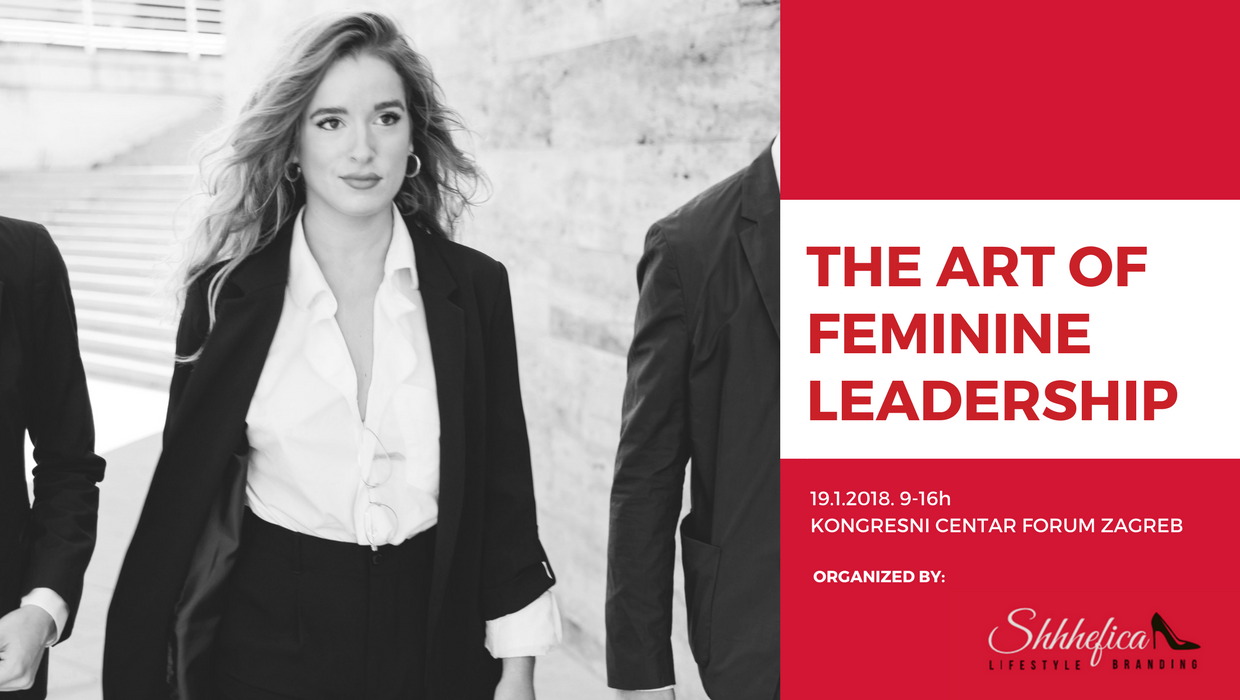 Naša preporuka: The Art of Feminine Leadership konferencija uskoro u Zagrebu!