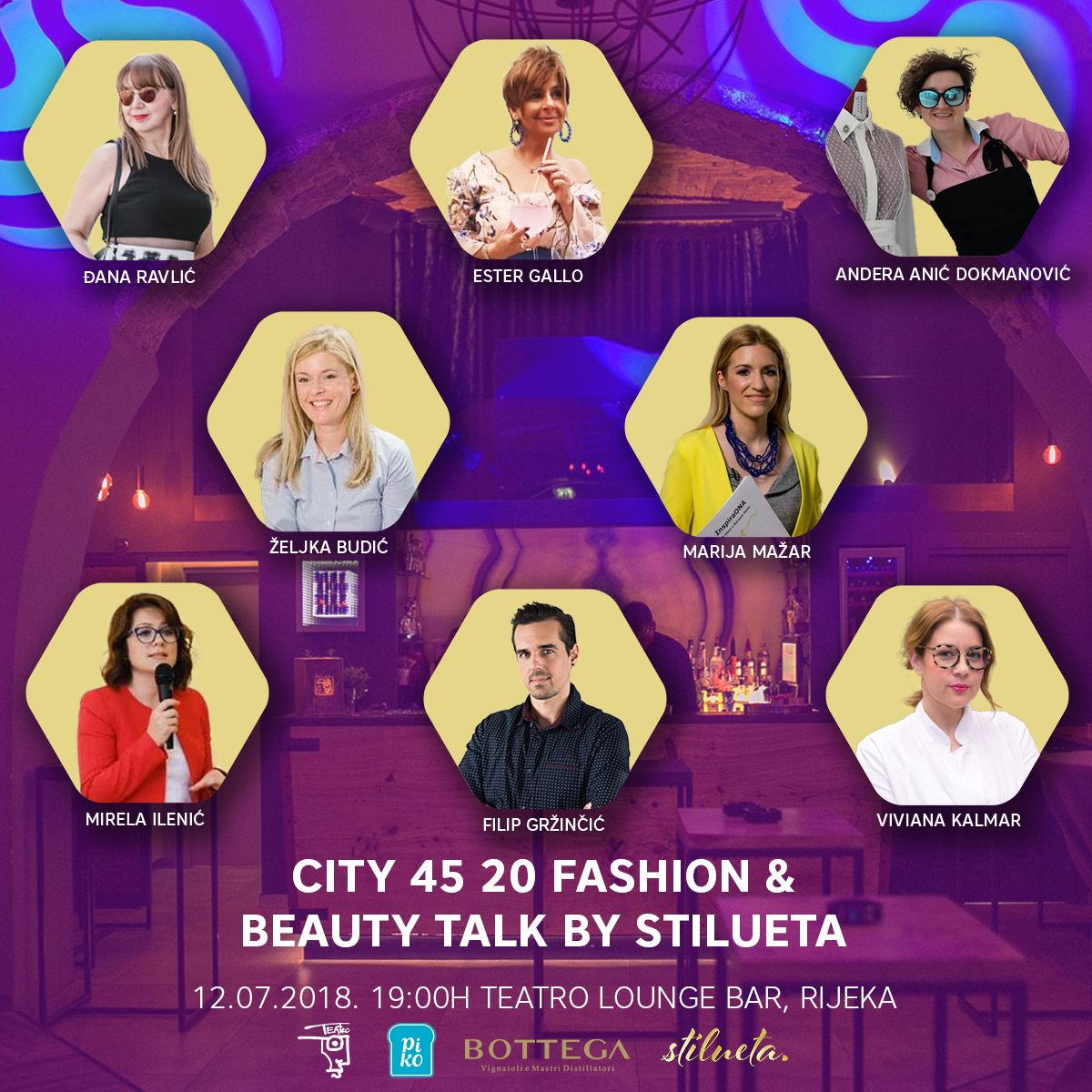 Večeri mode i ljepote CITY 45 20 prethodi panel diskusija u Teatro Lounge Baru!