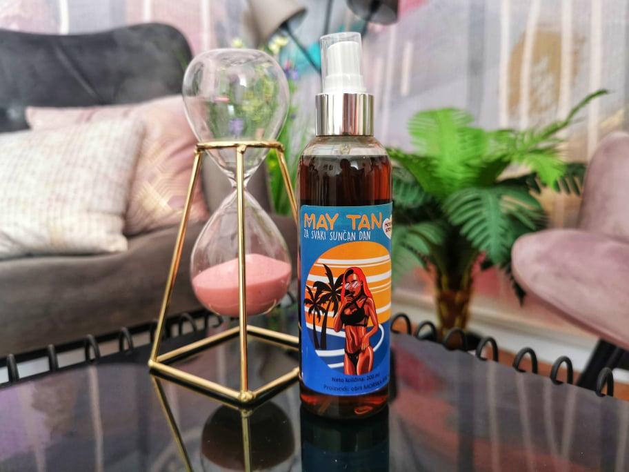 Stilueta & May Tan darivanje: Osvojite prirodno ulje za sunčanje May Tan